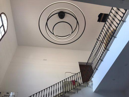 Finalizan las obras de mejora de acceso a la sala de exposiciones del Claustre del Carme
