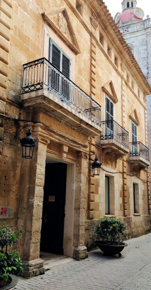 Edificio Saura Morell en Ciutadella