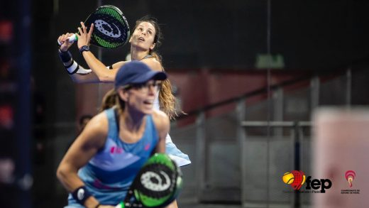 La pareja Sainz-Triay ya está en 'semis' del Campeonato de España de pádel