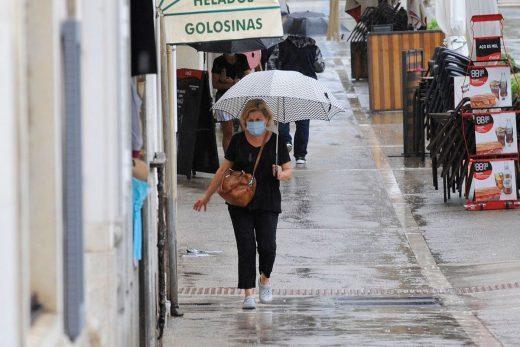 Hay que preparar el paraguas.