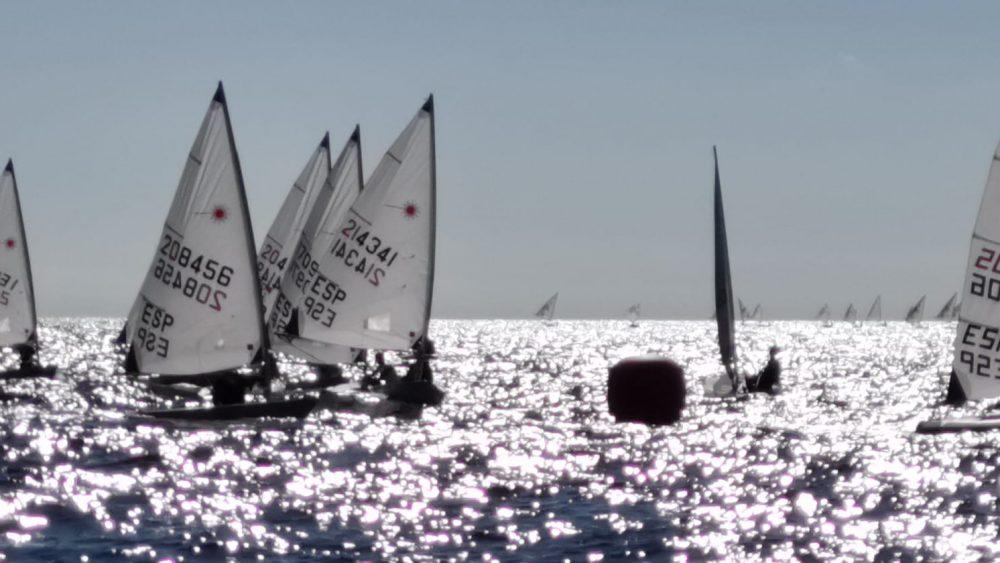 Un momento de una de las regatas (Fotos: CN Ciutadella)