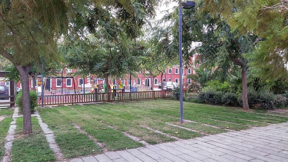 Imagen del parque de s'Esplanada (Foto: Ajuntament d'Es Castell)