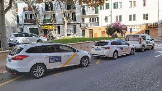 Taxistas de Es Castell (Foto: Aj Es Castell)
