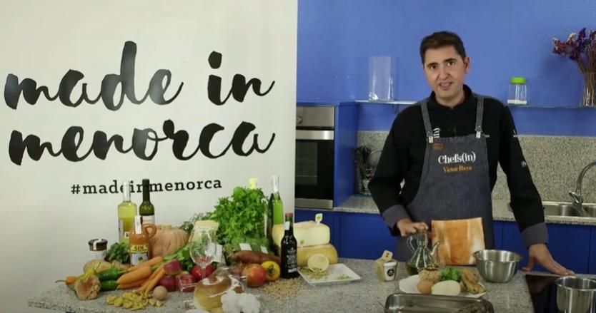 Imagen de uno de los tres vídeos con recetas de chefs locales