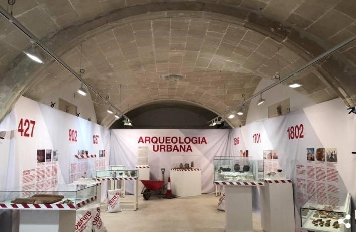 Imagen del diseño de la exposición (Foto: culturamenorca.org)