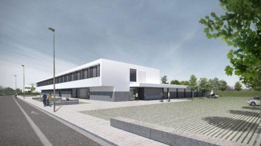 Imagen del proyecto del hospital.