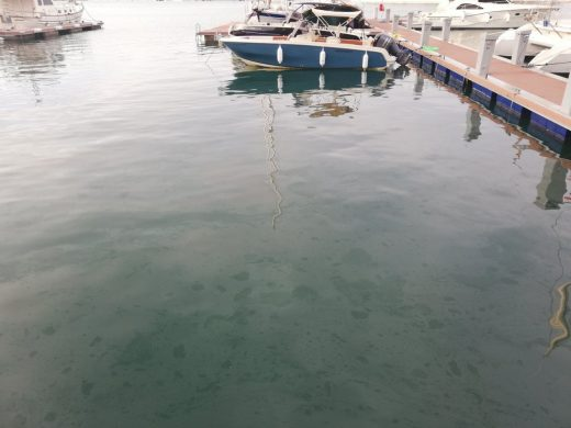 Imagen del puerto de Maó que publica el GOB Menorca