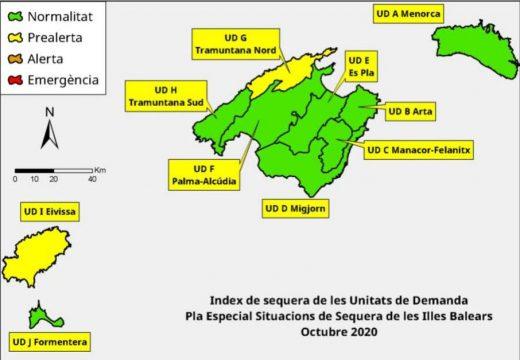 Las reservas hídricas de las Illes Balears se mantienen en el 62%