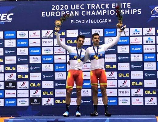 Mora y Torres, en el podio