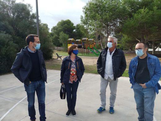 (Fotos) La nueva cara del parque de Es Grau