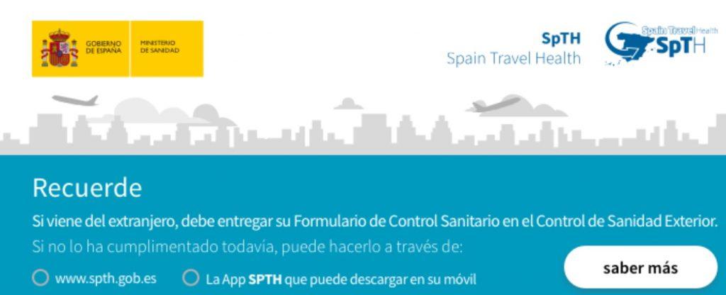 Petición de la PCR que ya anuncia el aeropuerto de Menorca