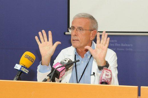 Romà Julià, en rueda de prensa (Foto: Tolo Mercadal)