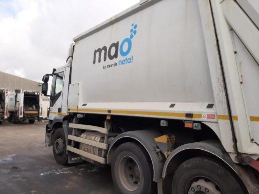 Servicio de recogida de residuos de Maó