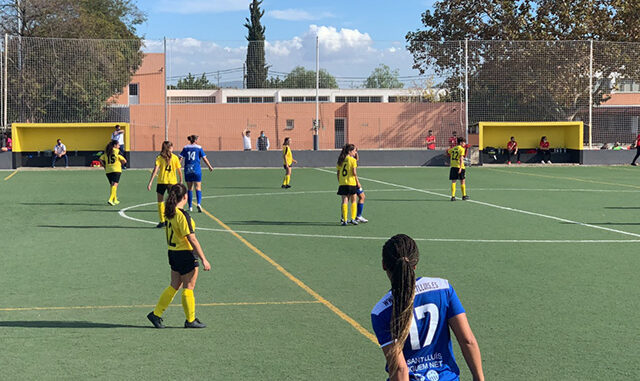 Imagen del partido disputado en Palma (Foto: CCE Sant Lluís)