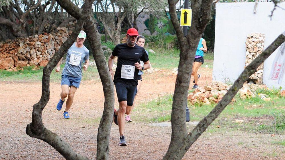 Un momento de la carrera (Fotos: Tolo Mercadal)