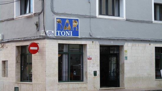 Imagen del Bar Tony.