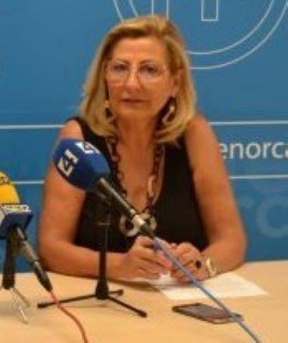 Coia Sugrañes es la portavoz del Grupo Popular en el Consell de Menorca