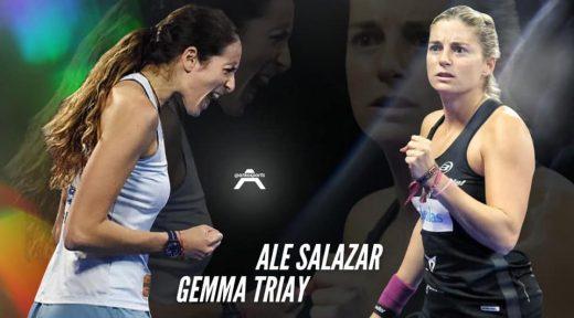Cartel promocional de las dos jugadoras.