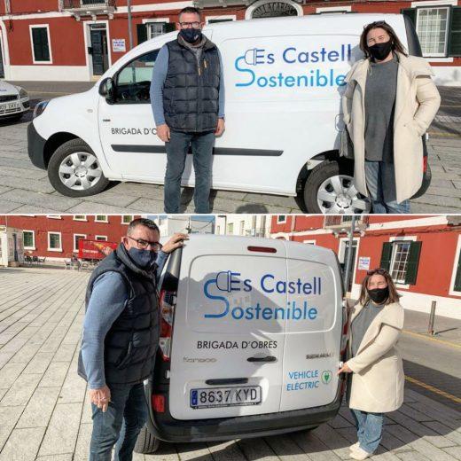 Nueva furgoneta eléctrica de la Brigada municipal