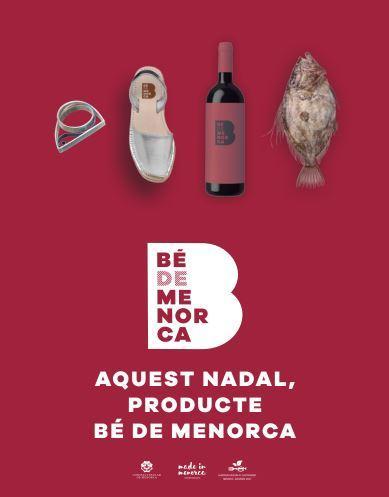 Cartel de la campaña Bé de Menorca