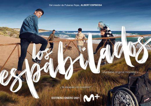 Cartel promocional de la serie de Movistar+.
