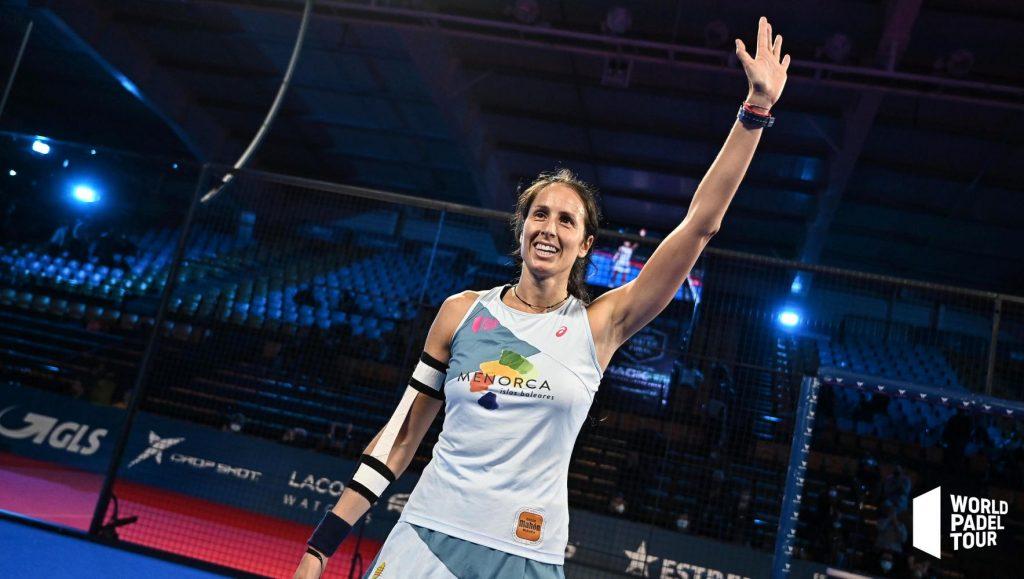 Gemma Triay celebrando una victoria