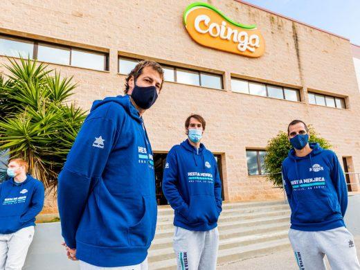 (Fotos) El Hestia Menorca estrecha lazos con COINGA