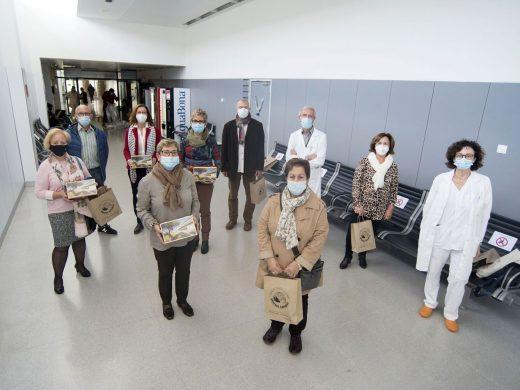 (Galería de fotos) Homenaje a los trabajadores jubilados del Àrea de Salut