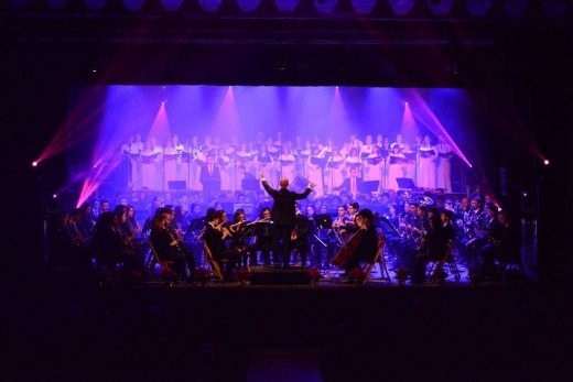 Imagen de un concierto de la Banda Municipal de Ciutadella.
