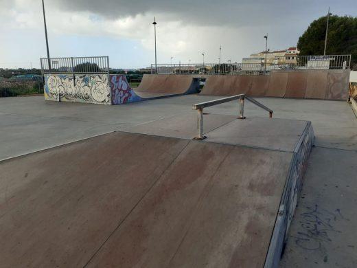 """Skateparc"" de Ciutadella."