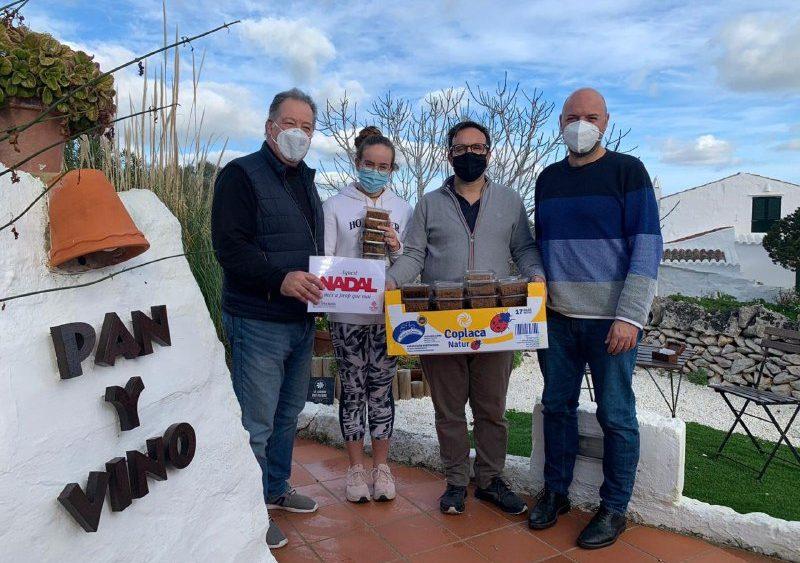 Pan y Vino, uno de los restaurantes que colabora en la iniciativa (Fotos:  Càritas Menorca)