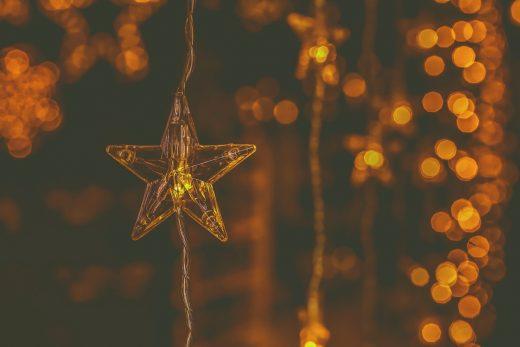 Iluminación de las calles en Navidad