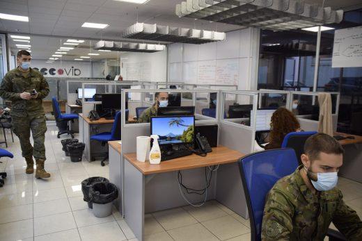 La Comandancia General de Baleares creó una Unidad de Vigilancia Epidemiológica a mediados de septiembre.