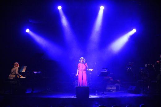Un momento de la actuación de Rut Florit (Foto: Tolo Mercadal)