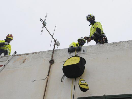 (Fotos) Rescate en Ciutadella