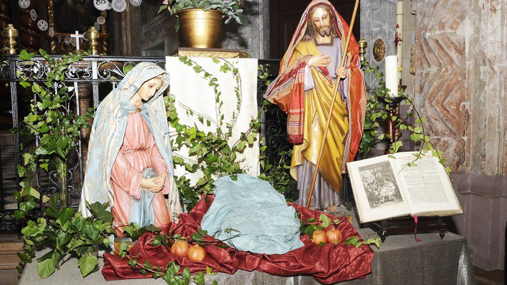 Belén en Sant Francesc de Maó.
