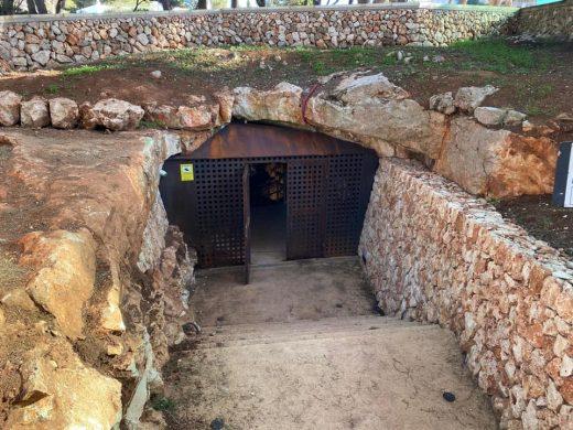 (Fotos) Acaban las obras de restauración de la Cova de s'Aigua