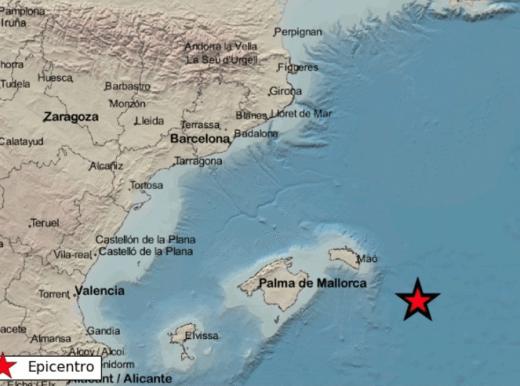 Localización del maremoto