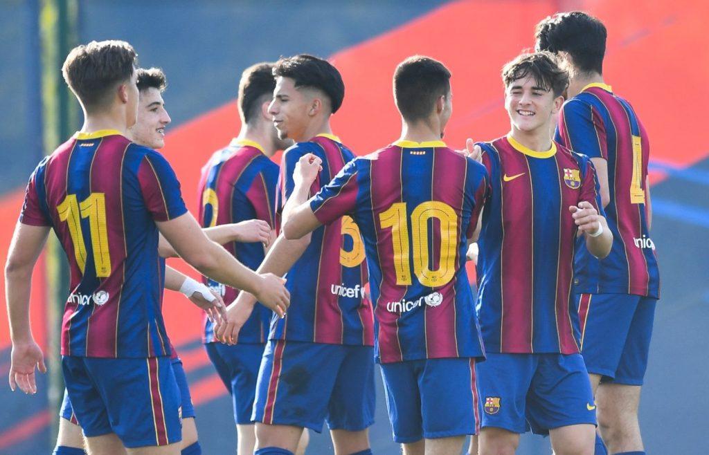 Celebración de un gol del Barça (Foto: FC Barcelona)