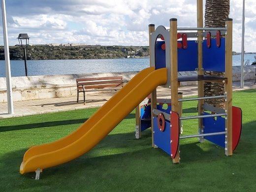 (Fotos) El parque de Bellavista, listo para jugar