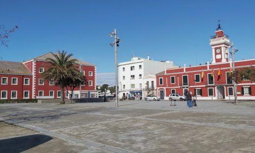 Plaça de s'Esplanada d'Es Castell.