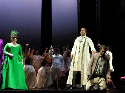 Imagen de una representación de ópera en Maó (Amics de s'Òpera)
