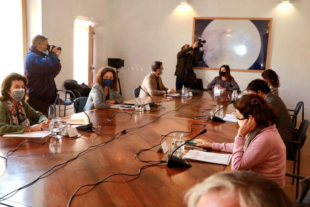 La presidenta del Consell de Menorca, Susana Mora, ha participado telemáticamente en la reunión