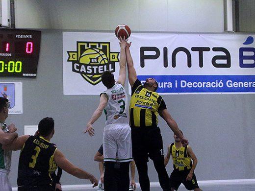 (Fotos) El Pinta B Es Castell sigue en caída