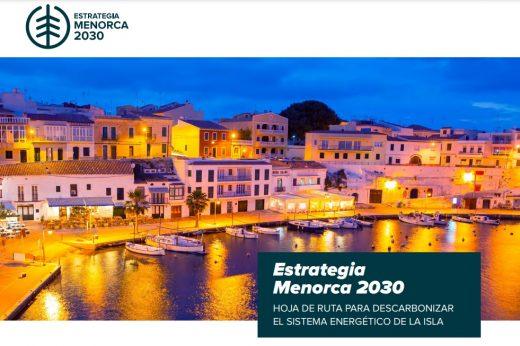 Portada del documento publicado por el Consell de Menorca