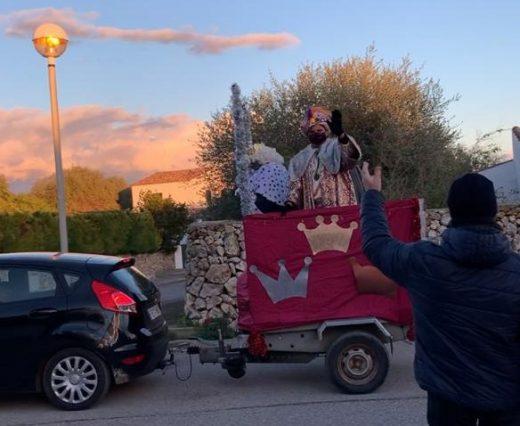 Los Reyes en Trebalúger.