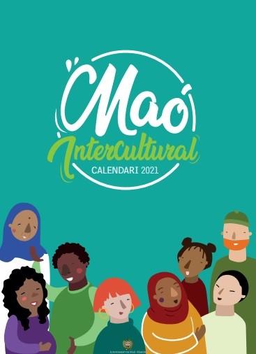 Portada del calendario intercultural de Maó.