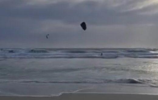 Cometas para surfear.