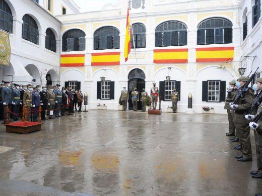 La Covid marca la Pascua militar en Maó