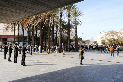 Consiguieron reunir a casi 200 personas en la manifestación del pasado viernes (Foto: Tolo Mercadal)